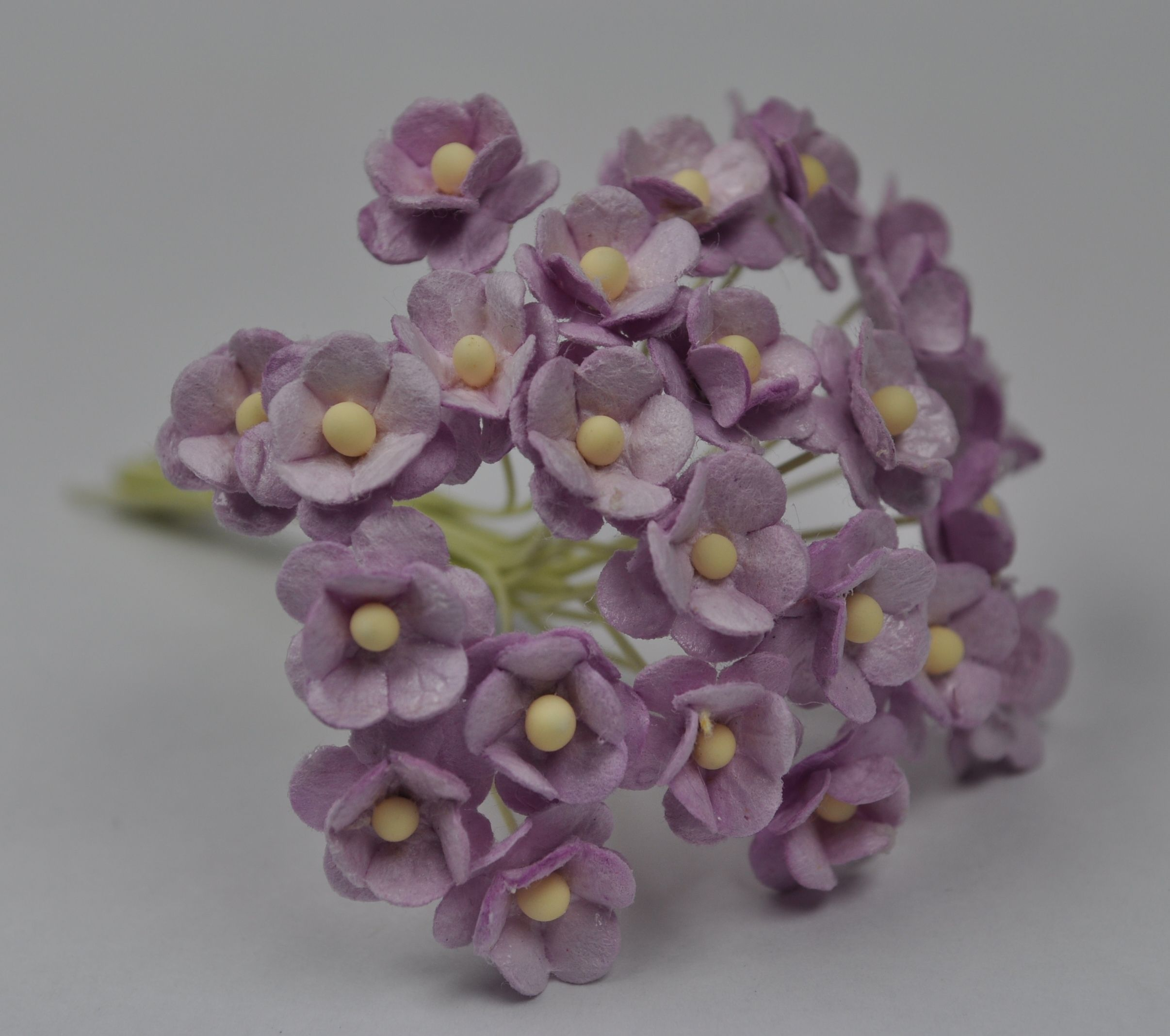 13cm pale lilac double layered daisy mulberry paper flowers mightylinksfo